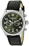 Stuhrling Original Men's 482.33155 Champion Victory Velo Quartz Chronograph Date Green Dial Watch