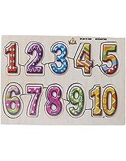 بازل خشب شكل ارقام - متعدد الالوان
