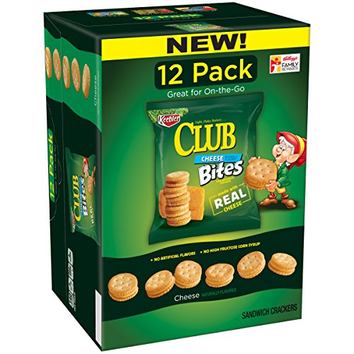 Cracker Bites (Keebler Cheddar Cheese Sandwich Cracker Bites Caddy Pack, 12 oz)