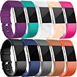 Geak Fitbit Charge 2 Bands, Special edition Replacement Bands for Fitbit Charge2, 10 Different Colors,Large Small
