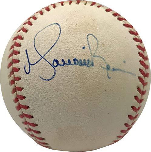(Mariano Rivera Signed Autographed 1998 WS Baseball Vintage JSA)