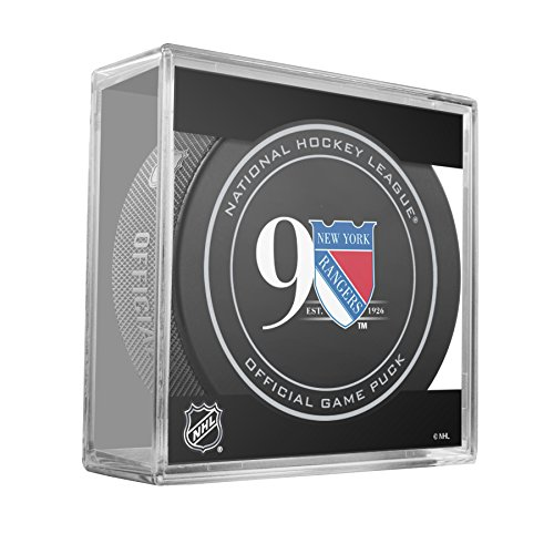 rangers official game puck - 1