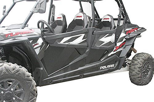Polaris RZR 1000 XP Aluminum Lower Doors 4 Seater Panel Inserts (Doors Rzr Xp 1000)
