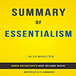 Summary of Essentialism by Greg McKeown