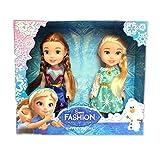 Frozen Adventure Disney Anna Elsa Princess Doll Toy For Kids