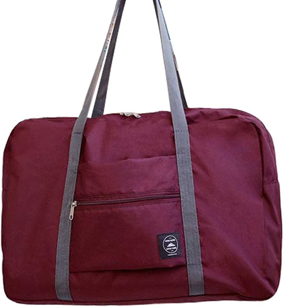 Kakiyi Carry Travel On Duffle Bag grande plegable almacenamiento de ropa Weekender Shouder bolsa de viaje