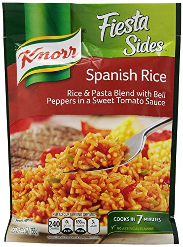 Knorr Fiesta Sides: Spanish Rice (Pack of 4) 5.6 oz Bags ()