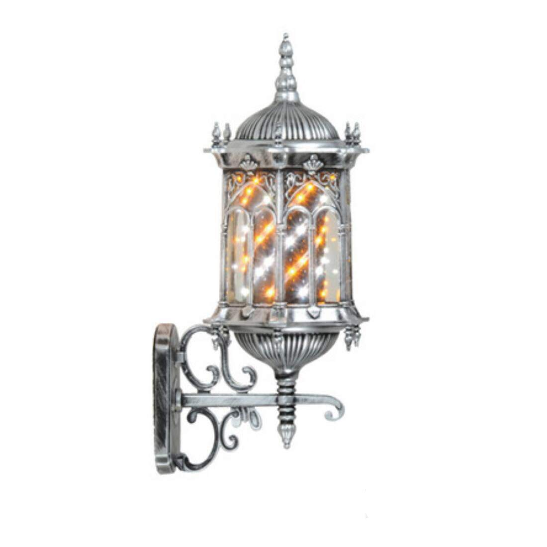 A LED Retro Aluminium wasserdicht Friseur wiederum Licht Salon Haar Wandleuchte Box Friseursalon Logo