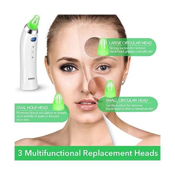 Blackhead Remover Vacuum Pore Cleaner - Electric Pore Vacuum Blackhead Comedone Acne Extractor,USB Rechargeable Face…