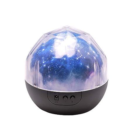 Sunsbell Lampara Proyector, Luz de Noche para Niños, Lámpara ...
