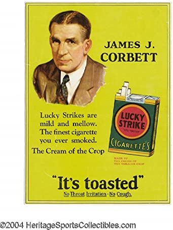 "Amazon.com: XXL 24"" x 36"" Poster Lucky Strikes Its Toasted Vintage ..."