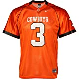 Nike Oklahoma State Cowboys #3 Youth Replica Football Jersey-Orange (X-Large)