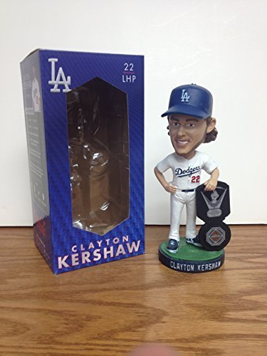 Clayton Kershaw 2014 MVP/CY YOUNG 2015 Los Angeles Dodgers STADIUM PROMO Bobblehead SGA ()