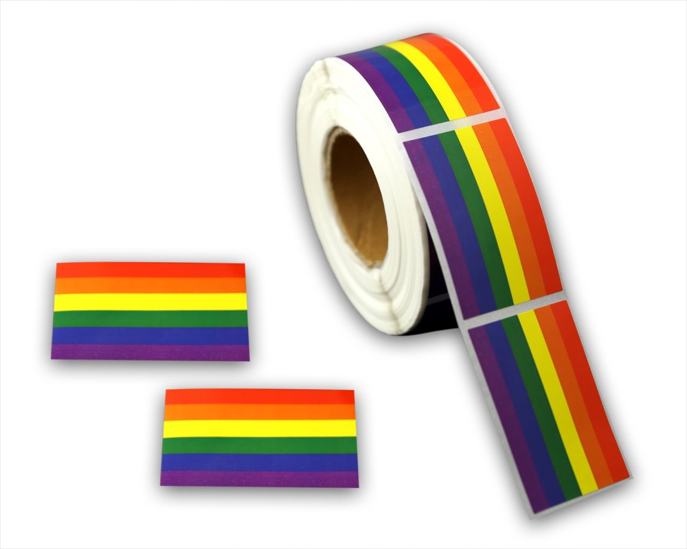 Stickers Calcos 500 un. LGBT Origen U.S.A. (0PX1F66O)