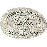 In Loving Memory of My Father Bereavement Memorial Rock Stone