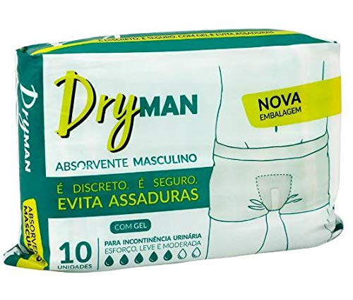 ABSORVENTE GERIATRICO MASCULINO DRYMAN C/10