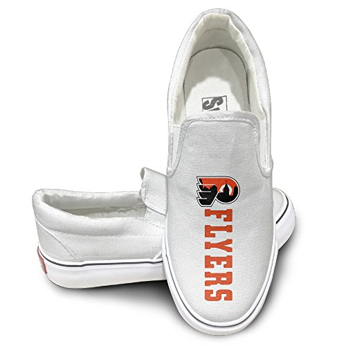 [Amone Philadelphia Flyer Oxford Unisex Flat Canvas Shoes Sneaker White 39] (Pi Day Costume Ideas)