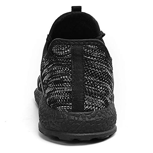 MARSVOVO Men's Air Knitted Running Shoes