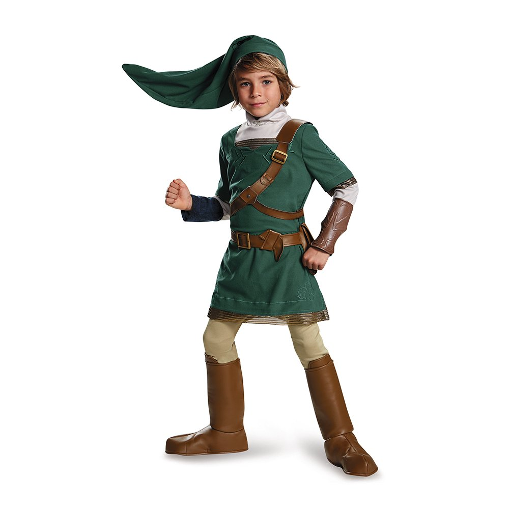 Disguise Link Prestige Legend Of Zelda Nintendo Costume, X-Large/14-16