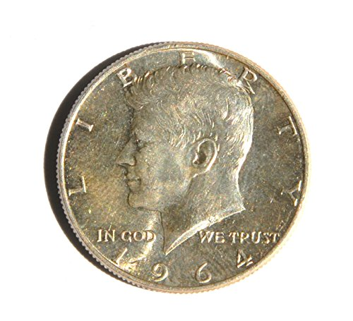 1964 United States of America Kennedy Half Dollar (Silver 90%) 5 Coin Set Coin Excellent Details ()