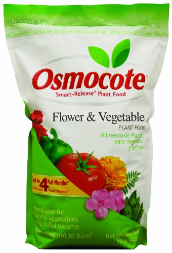 Osmocote Vegetable Smart Release Fertilizers 10 Pound