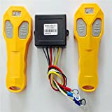 Ronben Wireless Winch Remote Control Kit 12V 50FT for Car Truck Jeep ATV (Yellow)