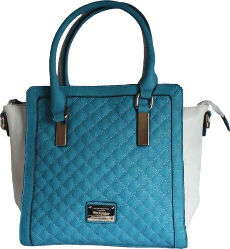 L Womens Blu Borsa Di Plastica A amp; Godere Max Tracolla qSzpBn