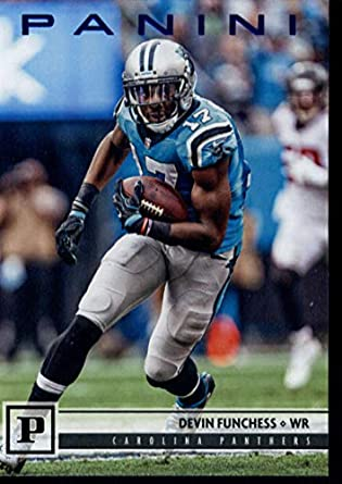 Amazon.com  2018 Panini Knight Blue  46 Devin Funchess Panthers ... b641f69b7