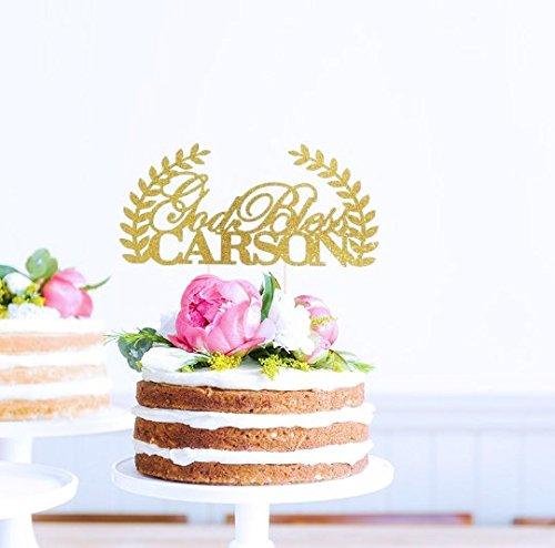 Baptism-Cake-Topper-First-Communion-Cake-Topper-Custom-Name-Cake-Topper-God-Bless-Topper-Christening-Cake-Topper-Religious-Cake-Topper