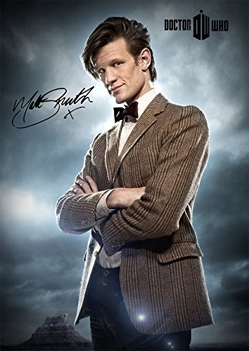 (11.7 X 8.3) Doctor Who Matt Smith Signed (Pre-Print autograph) Print
