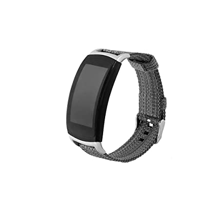 certainPL Bands for Samsung Gear Fit2 Pro / Fit2, Nylon Weave Sport Loop Replacement Strap Compatible for Samsung Gear Fit2 /Fit2 Pro SmartWatch ...