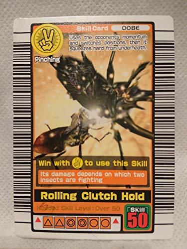 ムシキング 甲虫王者ムシキング  わざカード ローリングクラッチホールド 008E 英語版の商品画像