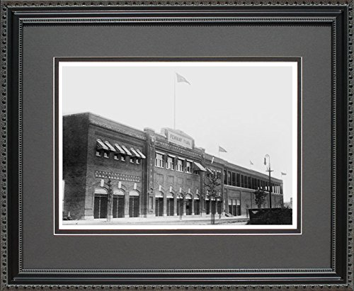Fenway Park Exterior Historical Red Sox Coach Office Framed Art - Sox Red Coaches