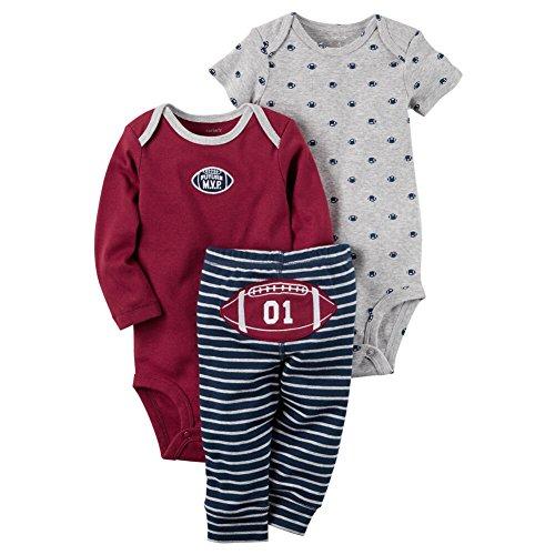 Carter's Baby Boys' 3 Piece Football Set Newborn (Newborn Boy Carters Football)