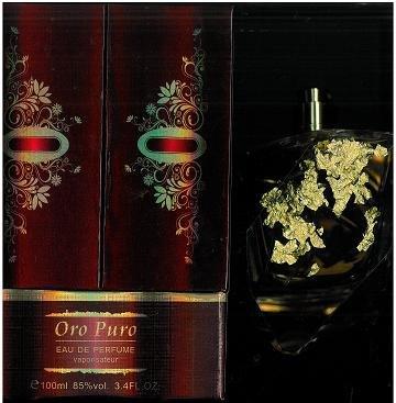 Oro Puro 3.4 Fl. oz. Eau De Perfume Spray Women by Perfume Ny Gear Inc