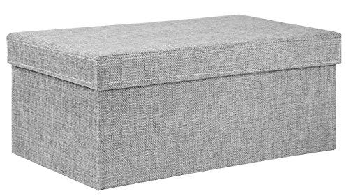 Charmant Creative Scents Gray Birch Fabric Storage Box, Lidded Shelf Storage Bin,  Decorative Closet Organizer Basket Home Garden Household Supplies  Organization ...