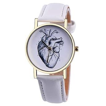 TIANJJ Reloj de Pulsera Reloj Mujer Casual Relojes de ...