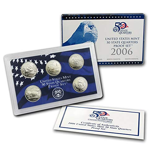 2006 S UNITED STATES MINT 50 STATE QUARTERS PROOF SET Uncirculated ()