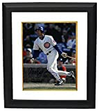 Ryne Sandberg Signed Autograph Chicago Cubs 11X14 Photo Custom Framed HOF 05 dropping bat - Certified Authentic