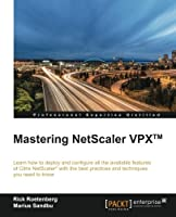 Mastering Netscaler VPX Front Cover