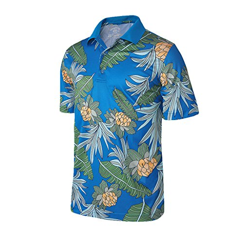 Men's Hawaiian Shirts Polo: Amazon.com