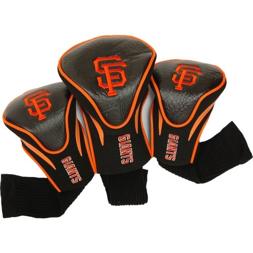 Giants Club (MLB San Francisco Giants 3 Pack Contour Head Covers)