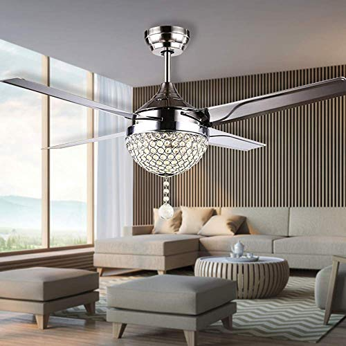 Compare Price Ceiling Fan Crystal On Statementsltd Com