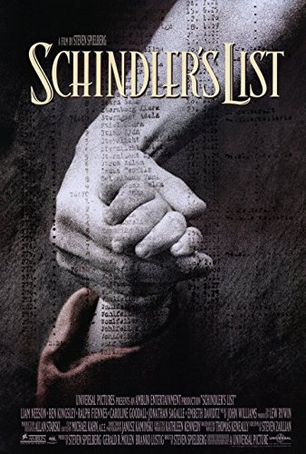 Schindler's List Movie Poster Print (27 x 40)