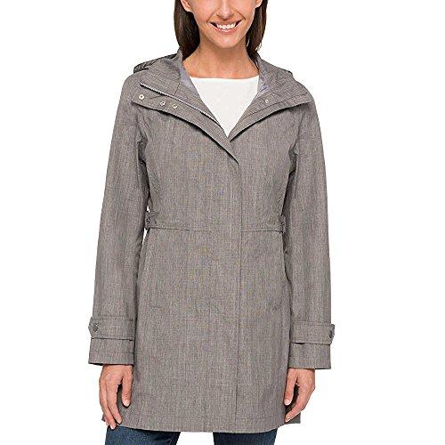 Kirkland Signature Ladies' Trench Coat (Lt Grey, Medium)