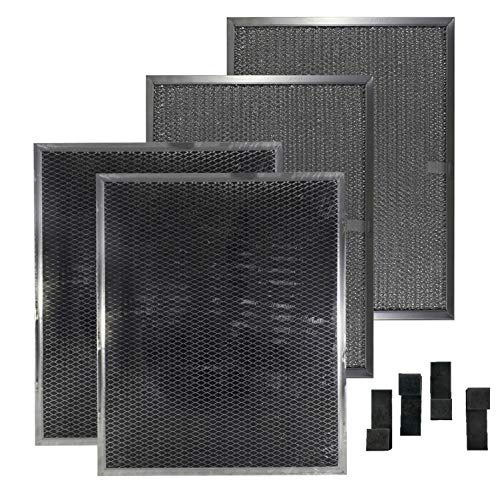 (Air Filter Factory Compatible 4 Filter Kit BPS1FA30 BPSF30 99010308 with 99527587 Clips)