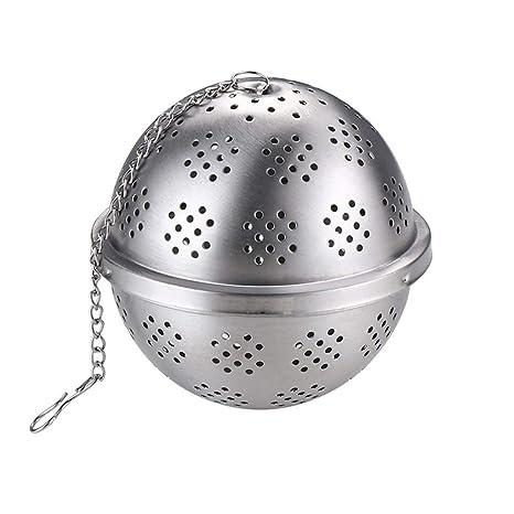 UPKOCH Infusor de té de malla de acero inoxidable con filtro ...