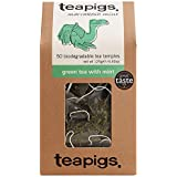 teapigs Green Tea with Mint, 50 Count