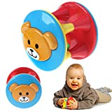 CHONE Baby Bear Rattle - Baby Little Rolling Loud Grasp Shaker Educational Toy