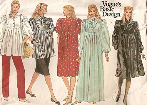 Vogue 1083 Vintage 1970s American Designer STAN HERMAN Tunic Dress Pattern ()